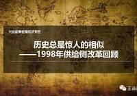 历史总是惊人的相似——1998年供给侧改革回顾